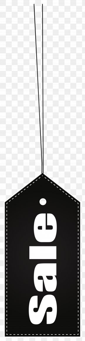 Black Sale Label Transparent Clip Art Image - Brand Black And White Font PNG