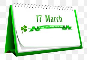 March - Saint Patrick's Day March 17 Clip Art PNG