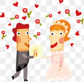 Sahua Wedding The Couple Vector - Wedding Anniversary Marriage Wedding Cake Happiness PNG