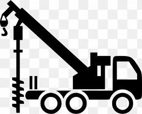 Excavator - Augers Drilling Rig Excavator Architectural Engineering PNG