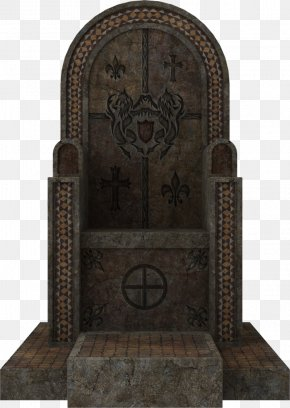 Throne Photos - DeviantArt Cemetery Headstone Community PNG