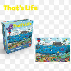 Great Barrier Reef - Jigsaw Puzzles Great Barrier Reef That's Life Toy PNG