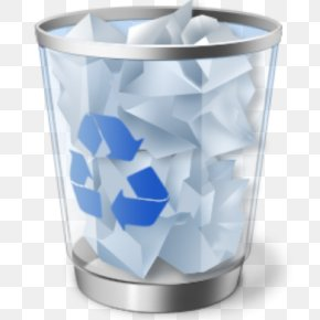 Recycle Bin - Trash Recycling Bin File Deletion Computer File PNG