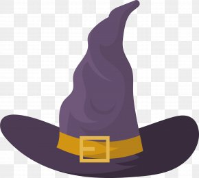 Purple Magic Witch Hat PNG