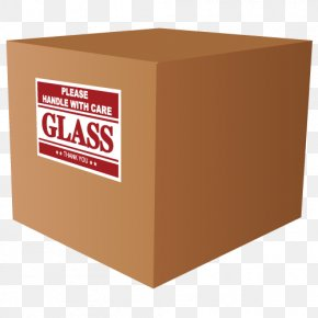 Box - Freight Transport Box Packaging And Labeling Sticker PNG