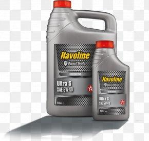 Oil - Motor Oil Havoline Texaco Synthetic Oil PNG