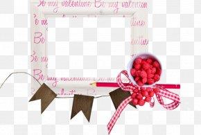 Valentine Frame - Download Ribbon Love PNG