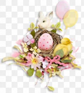 Easter Frame - Easter Egg Easter Bunny Clip Art PNG