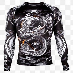 T-shirt - T-shirt Rash Guard Venum Brazilian Jiu-jitsu Boxing PNG