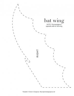 Costume Wings Outline - Black And White Angle Pattern PNG