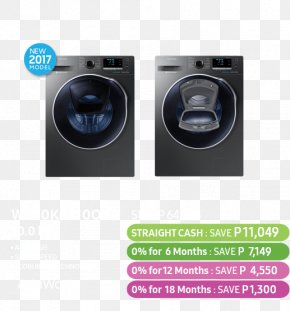 Summer Offer - Washing Machines Clothes Dryer Samsung Group Laundry PNG