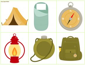 Camping Supplies Cliparts - Camping Outdoor Recreation Campervans Clip Art PNG