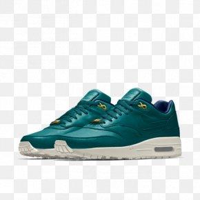 Black Nike Air Max 1 Men's Sports Shoes Air JordanNike - Nike Air Max 1 Premium Men's Shoe PNG