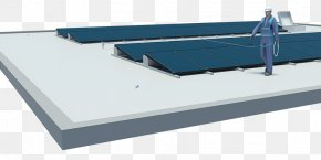 Solar Power Solar Panels Top - Roof Fall Protection Guard Rail Solar Panels Falling PNG