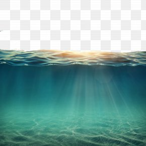 Water Under The Sun - Underwater Ocean PNG