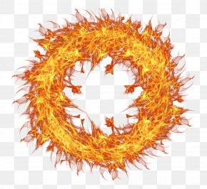 Fire Flame Circle Transparent - Fire Flame Clip Art PNG