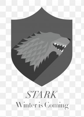 Thrones - A Game Of Thrones Fire And Blood House Stark Winter Is Coming PNG