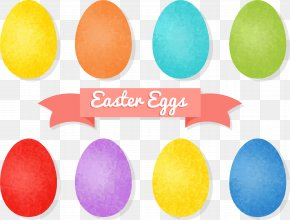 Colored Eggs - Easter Egg Pantone PNG