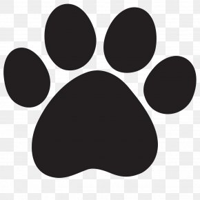 Paw Print - Lion Cougar Dog Cat Clip Art PNG