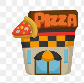 Pizza Construction - Cartoon House Royalty-free Stock Photography PNG