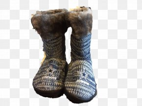 Boot - Snow Boot Shoe Wool PNG