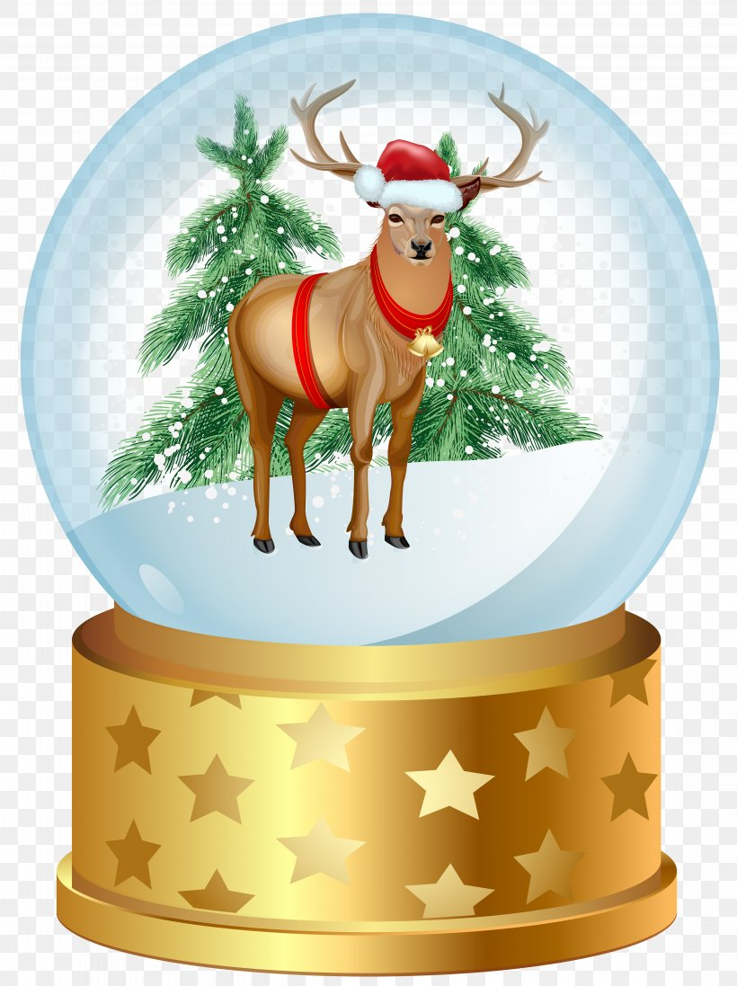 Christmas Snow Globe Clip Art, PNG, 4481x6000px, Deer, Candy Cane, Christmas, Christmas And Holiday Season, Christmas Decoration Download Free