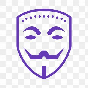 Anonymous - Guy Fawkes Mask Anonymity Clip Art PNG