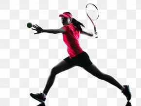 Tennis Player Backlit Photo - Tennis Stock Photography Silhouette Royalty-free PNG