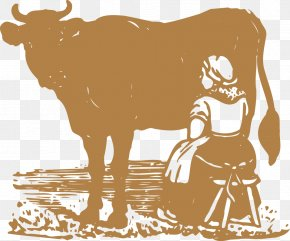 Cow Vector Material - Dairy Cattle Milk Ox PNG