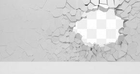 Wall Damage - Stone Wall Window PNG