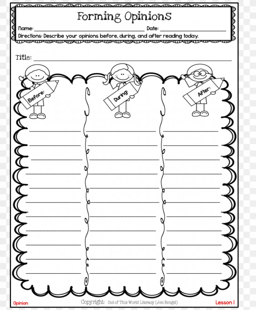 - Writing Reading Comprehension Teacher Lesson, PNG, 848x1024px
