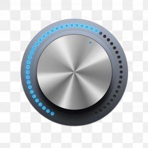 Round Blue Button Progress Bar - Button User Interface Design Widget Progress Bar PNG