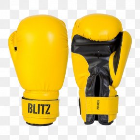 Yellow Boxing Gloves - Boxing Glove Driving Glove PNG