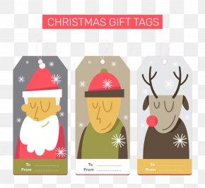 Christmas Gift Tag - Gift Christmas Gratis PNG
