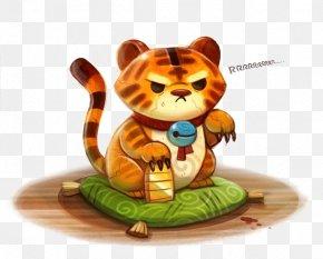 Cartoon Tiger - Tiger DeviantArt Drawing Painting Digital Art PNG