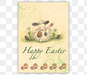 Easter - Greeting & Note Cards Easter Postcard Paper Post Cards PNG