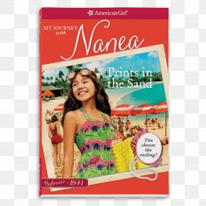Book - Prints In The Sand: My Journey With Nanea Hula For The Home Front: A Nanea Classic 2 Z On Location (American Girl: Z Yang, Book 2) PNG