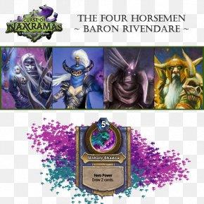 Youtube - Curse Of Naxxramas Four Horsemen Of The Apocalypse YouTube Baron Rivendare PNG