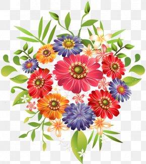 Flower Bunches Cliparts - Flower Bouquet Clip Art PNG