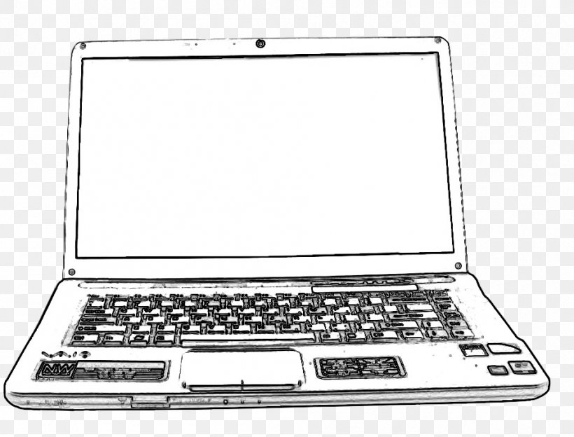 Sketch Drawing Laptop Computer Image Png 947x721px Drawing Computer Computer Accessory Computer Monitor Accessory Desktop Computers