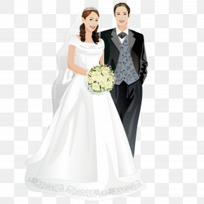 Cute Couple - Marriage Bride Wedding Picture Frame PNG