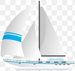 Sailboat Transparent Clip Art Image - Sailing Ship Watercraft Road Transport PNG