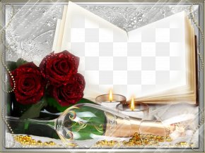 Romantic Love Frame Background - Love Photo Frames Red Hearts Romance Picture Frames Desktop Wallpaper PNG