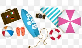 Vector Illustration Beach Resort Toys - Beach Euclidean Vector Illustration PNG