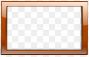 Orange Frame Cliparts - Board Game Area Pattern PNG
