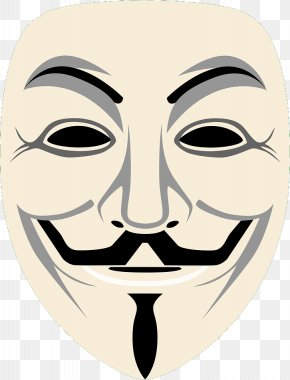 Mask - Guy Fawkes Mask Gunpowder Plot Guy Fawkes Night Halloween PNG