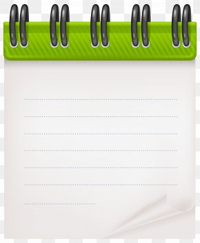 Notebook - Paper Green PNG