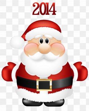 Santa Images - Santa Claus Candy Cane Christmas Clip Art PNG