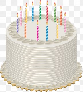 Birthday Cake - Birthday Cake Candle Clip Art PNG