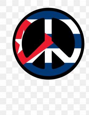 Cuba - Flag Of Cuba Peace Symbols Clip Art PNG